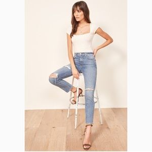 Julia High Rise Cigarette Jeans - Arches